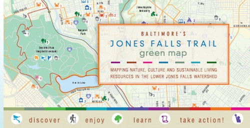 Jones Falls Trail Map